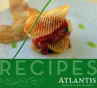Recipes - Atlantis