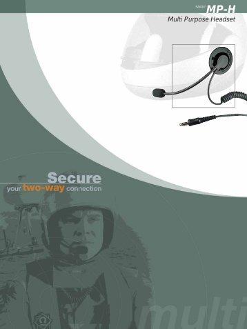 Multi Purpose Headset - Peltaco Oy