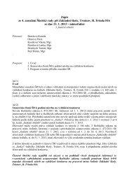 zápis ze 4. - Základní škola Trutnov, Rudolfa Frimla 816, Trutnov