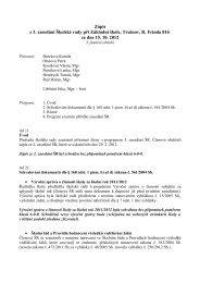 zápis ze třetího jednání školské rady ve třetím - Základní škola ...