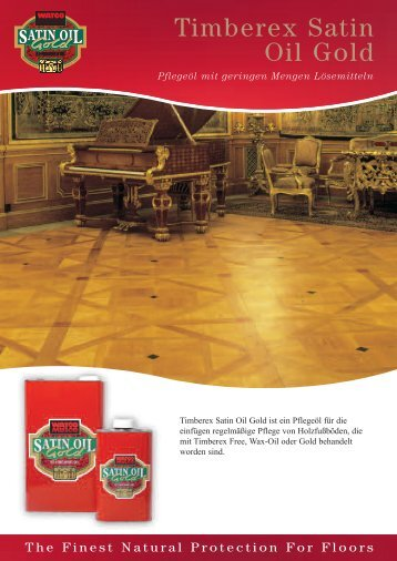 Timberex Satin Oil Gold