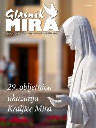 29 obljetnica ukazanja Kraljice Mira