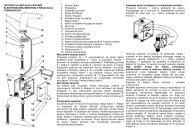 Instrukcja montażu Mesteno sensorowa - Deante
