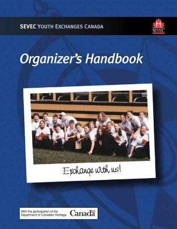 Organizer's Handbook