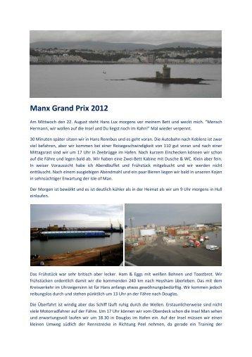 Manx Grand Prix 2012