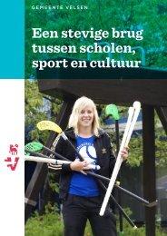 Een stevige brug tussen scholen sport en cultuur