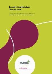 Impuls lokaal bekeken: Meer en beter - Sport en bewegen in de Buurt