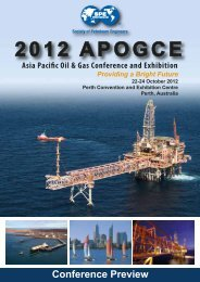 2012 APOGCE - Society of Petroleum Engineers