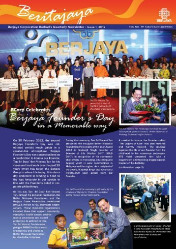 1 | Beritajaya Issue 1, 2012