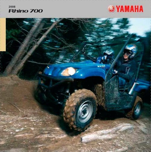 Rhino 700 - Black Forest Quad
