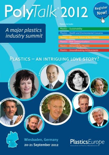 PlAStICS – AN INtRIGUING lOVE StORy? - PlasticsEurope