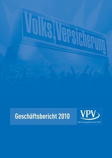 Bericht des Vorstands über das Geschäftsjahr 2010
