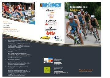 Topsportschool Triathlon