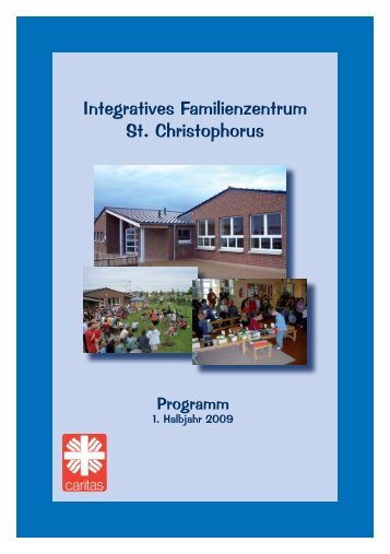 Programm FZ 01.09 - Integratives Familienzentrum St. Christophorus
