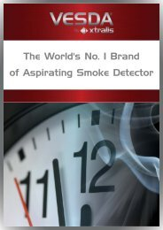 The World's No 1 Brand of Aspirating Smoke Detector