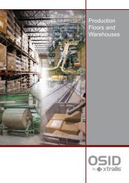 Production Floors and Warehouses