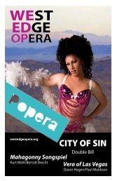 Mahagonny Songspiel - West Edge Opera