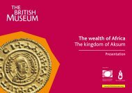 The wealth of Africa The kingdom of Aksum