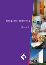 Folder Borstbesparende behandeling - Martini ziekenhuis