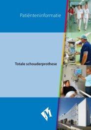Folder De totale schouderprothese - Martini ziekenhuis