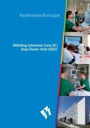 Afdelingsfolder IC/Step Down Unit - Martini Ziekenhuis