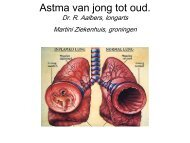 Astma van jong tot oud