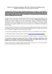 Modulo di Delega al Rappresentante Designato - Gruppo ...
