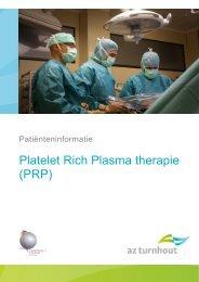 Platelet Rich Plasma therapie (PRP)