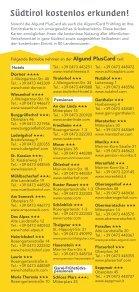 Algund PlusCard - Seite 3
