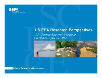 US EPA Research Perspectives