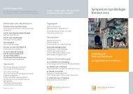Symposium Gynäkologie Bremen 2012 - Endokrinologikum