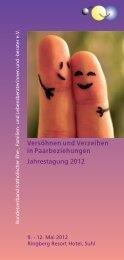 Das Tagungsprogramm - Bundesverband Katholischer Ehe-, Familien