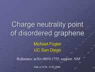 Charge neutrality point of disordered graphene