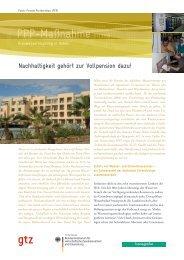 GTZ InDesign-Vorlage für Publikationen – Factsheets DIN A4