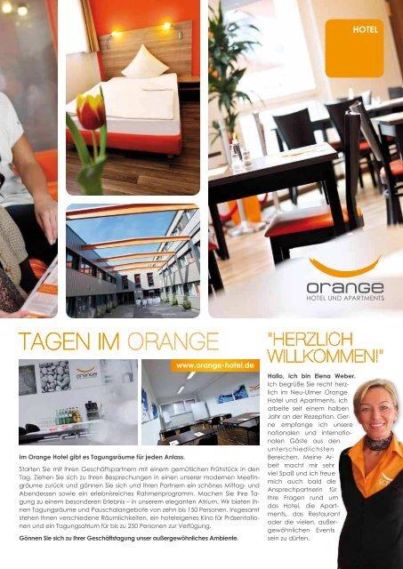 Kulinarischer Herbst im Orange Orange Jobs ... - Orange Hotel