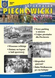 Informator Piechowicki marzec 2009 - Piechowice