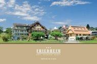 Idyllhotel im Grünen - Hotel Friedheim