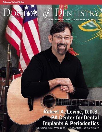 Robert A Levine D.D.S PA Center for Dental Implants & Periodontics