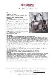 Austermann Modell 38a_Englisch Tasche Creativ und Filz Exc–