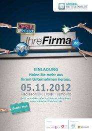 ANTRIEB- TSLETTIM AND.DE Eintritt frei! 05.11.2012 - Convent