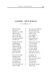 AZERI SETOSOA