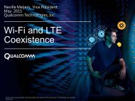 Wi-Fi and LTE Coexistence