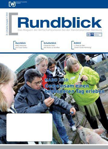 MADD 2010 - Wirtschaftsjunioren bei der Handelskammer Hamburg