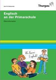 Englisch an der Primarschule