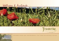 Wellness & Ambiente... - Hotel Friederike Willingen