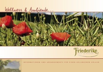 Wellness & Ambiente... - Hotel Friederike Willingen