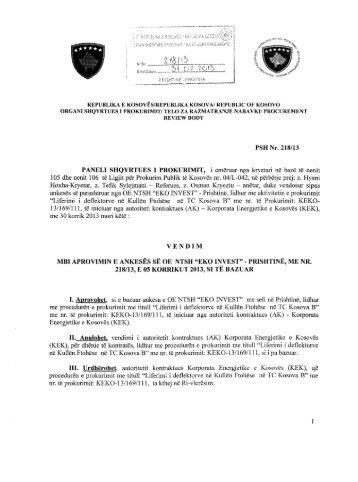 Download - Organi Shqyrtues i Prokurimit - Shqip