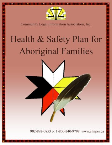 Health & Safety Plan for Aboriginal Families - Community Legal ...