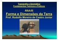 2 – Representação da Terra - Laboratório de Topografia e ...