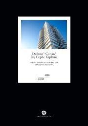 DuPont™ Corian® Exterior Cladding